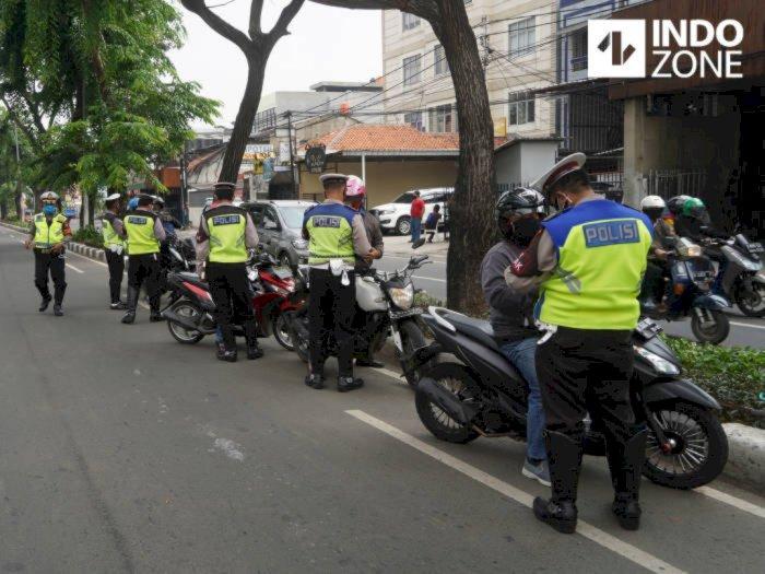 Hari Pertama Operasi Patuh Jaya di Jakarta, 1,763 Pengendara Ditilang
