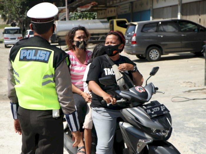 Operasi Patuh di Papua: Pelanggar Tak Pakai Helm Hingga Mabuk saat Berkendara