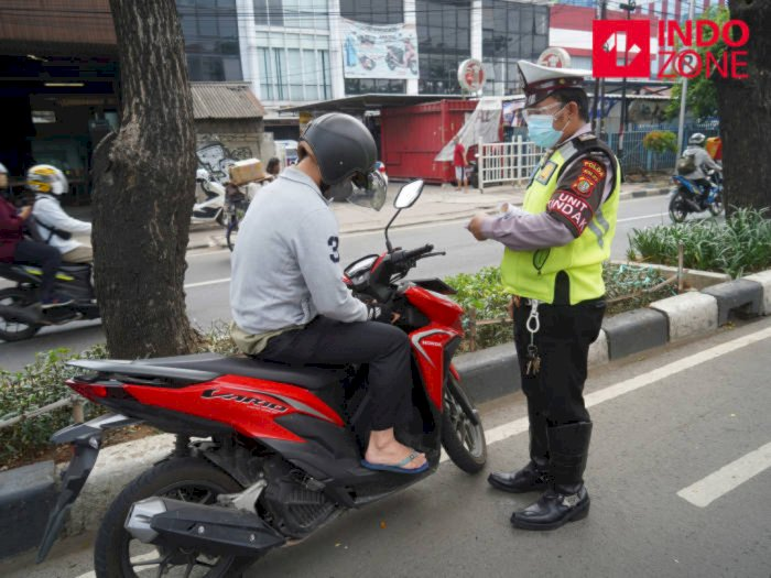 Hari Kedua Operasi Patuh Jaya di Jakarta, 1.601 Pengendara Ditilang