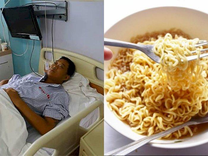 Pria Ini Menderita 16 Penyakit karena Keseringan Begadang dan Makan Mie Instan