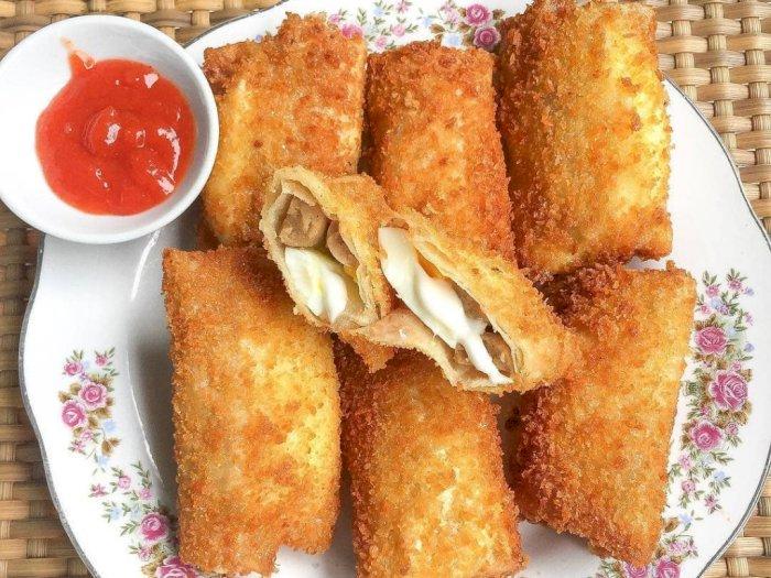 Bikin Risol Mayonaise untuk Stok Camilan di Rumah