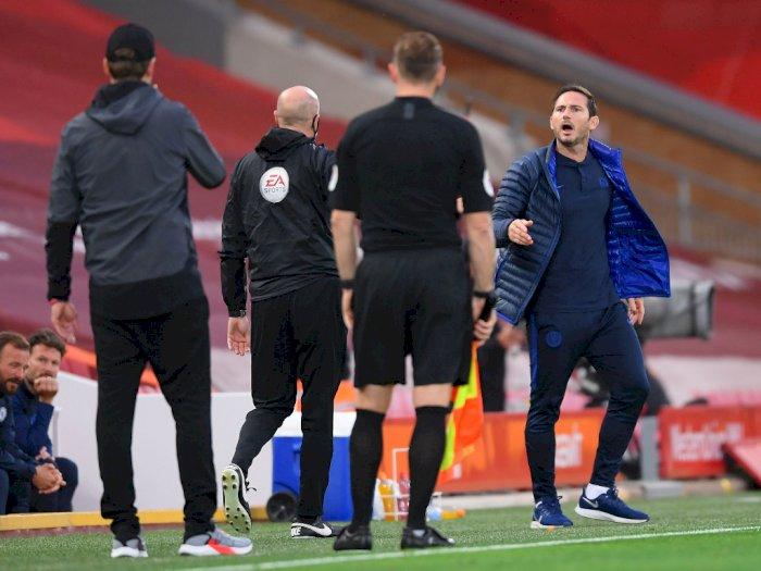 Marah-marah di Laga Kontra Liverpool, Lampard: Aku Menyesal
