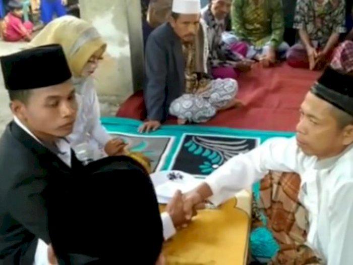Viral Pernikahan dengan Mahar Cuma Rp 1.000 di Lombok, Mempelai Wanita Tertunduk Lesu