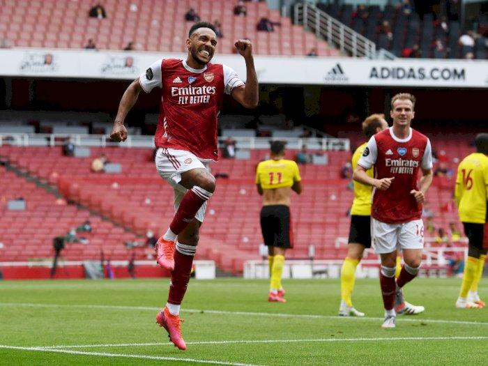 Arsenal VS Watford: The Gunners Unggul 3-1 di Babak Pertama