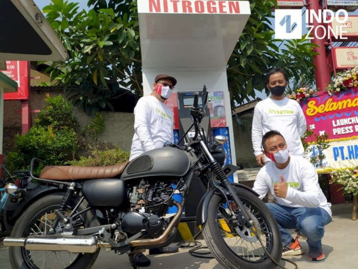 Pengisian Nitrogen 4.0 Tanpa Operator Resmi Ada di Indonesia
