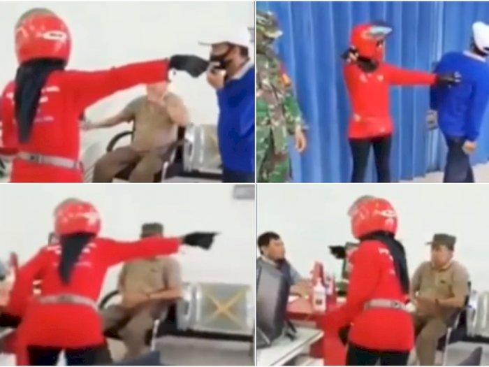 Viral Camat Disangka Tukang Sapu,  Dipanggil dan Disuruh Lelaki Bersihkan Halaman Tokonya