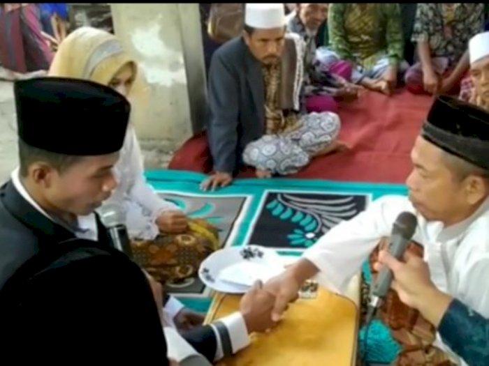 Heboh Nikah dengan Maskawin Rp 1.000, Mempelai Pria Bolak-balik Salah saat Ijab Kabul
