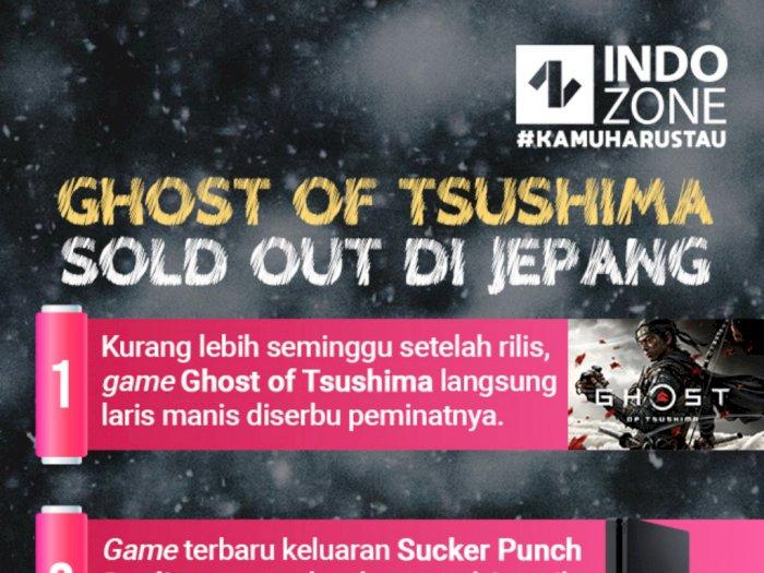 Game Of Tsushima Sold Out di Jepang