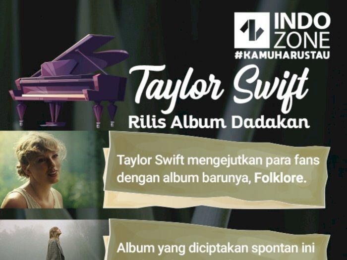 Taylor Swift Rilis Album Dadakan