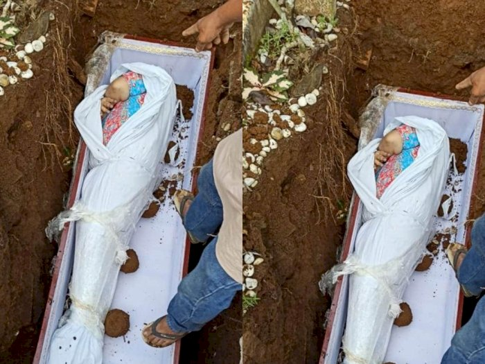 Jenazah Pasien Covid-19 Masih Pakai Daster saat Mau Dikuburkan, Katanya Sesuai Fatwa MUI