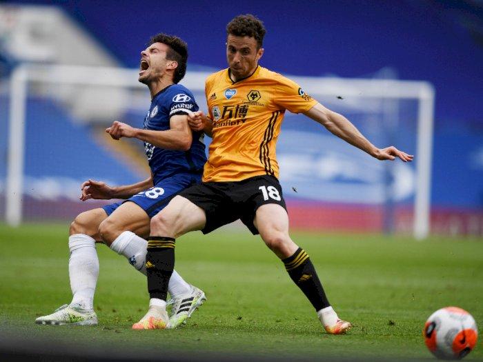 FOTO: Tampil di Kandang Sendiri, Chelsea Menang 2-0 atas Wolves