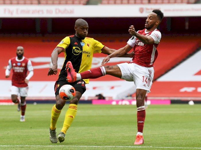 Arsenal Menang Tipis 3-2 dari Watford