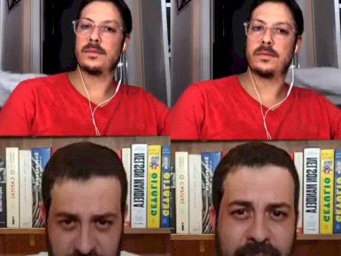 Malu Banget! Lagi Video Call, Istri Pria Ini Malah Lewat dengan Kondisi Telanjang