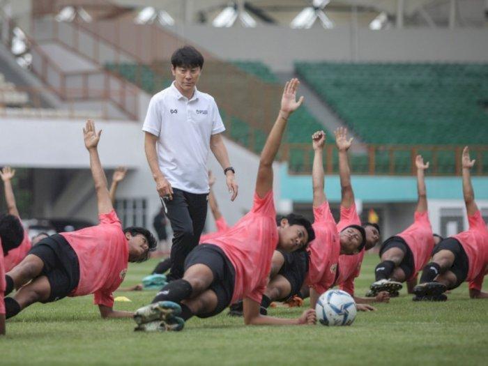 Shin Tae-yong Ingin Pemain Timnas Dua Kali Swab Test Sebelum Latihan