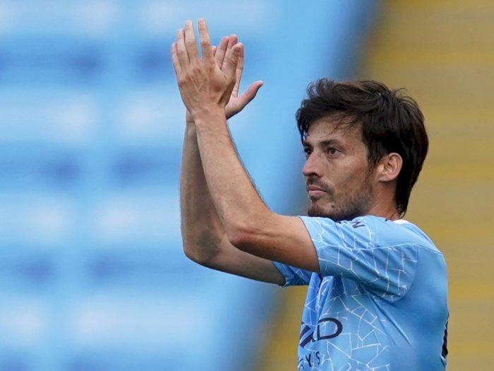 10 Tahun Bersama, David Silva Berpisah dari Manchester City