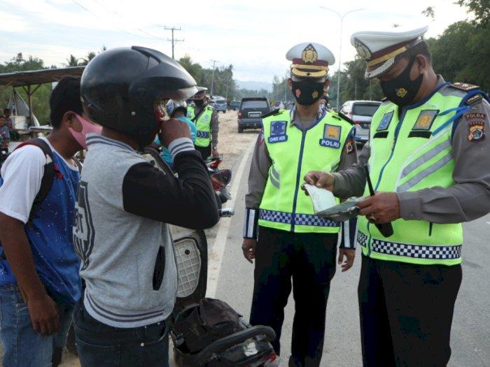 Hari Ketiga Operasi Patuh di Papua: Pelanggar Menurun Drastis Dibanding 2019
