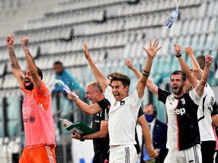FOTO: Juventus Raih Scudetto Setelah Kalahkan Sampdoria 2-0