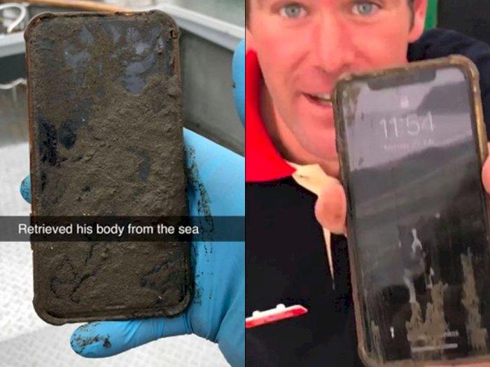 iPhone X Ini Masih Bisa Hidup Meski Sudah Tenggelam di Laut Selama 6 Hari