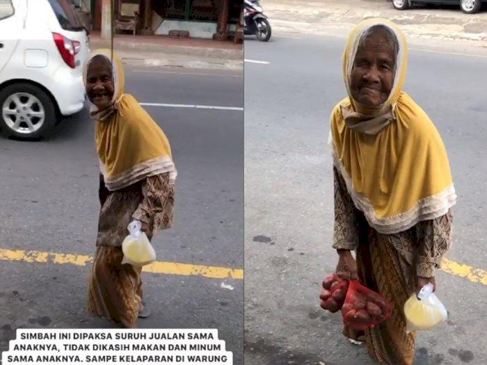 Viral Nenek 80 Tahun Tua Renta Dipaksa Jualan Salak Keliling oleh Anaknya di Sleman