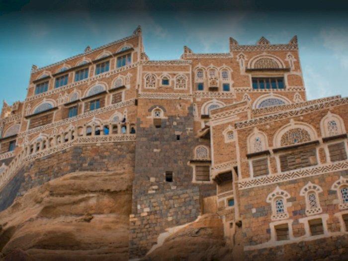 Potret Dar Al Hajar, Istana Batu Megah di Yaman