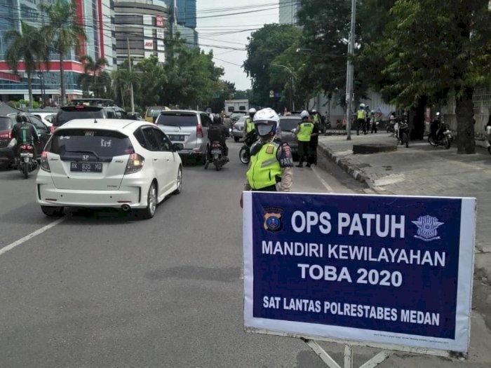 5 Hari Ops Patuh Toba, Polisi Amankan 40 Motor Knalpot Blong