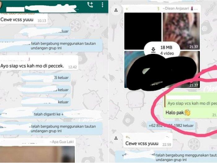 Siswa Ini Kaget Temukan Gurunya di Grup WhatsApp Video Dewasa, Sampai Ditelpon Balik