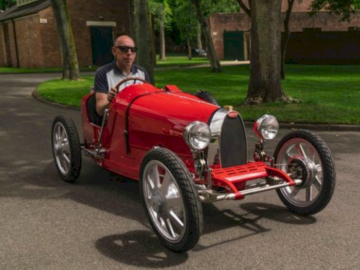 Inilah Bugatti Baby II, Mobil Listrik Terbaru Milik Bugatti dengan Harga Mulai Rp 509 Juta