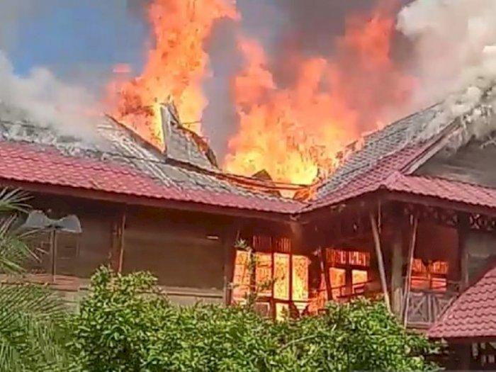 Pondok Pesantren Darul Arafah di Deli Serdang Terbakar