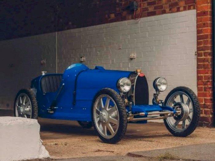 Bugatti Luncurkan Mobil Klasik Mini untuk Satu Orang