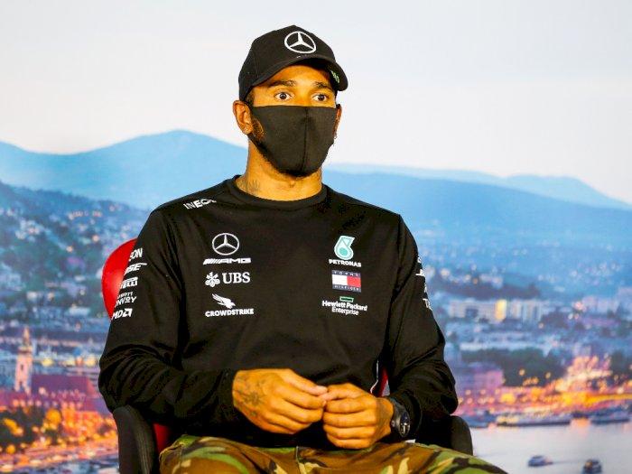 Pada F1 Inggris, Lewis Hamilton Peringatkan Fans untuk Tak Datang ke Sirkuit Silverstone