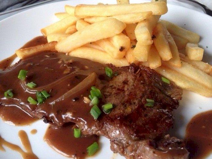 Barbeque Ala Idul Adha, Yuk Bikin Sirloin Steak With Blackpepper Sauce