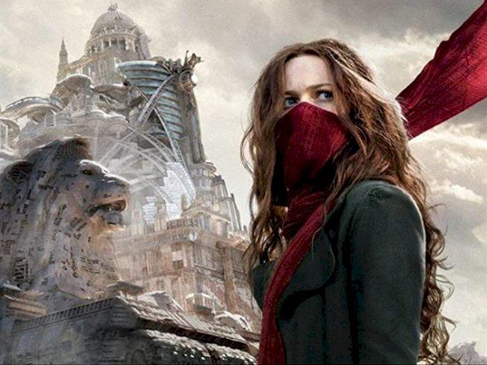 """Sinopsis """"Mortal Engines (2018)"""" - Berjuang Hentikan Kota Predator Raksasa"""