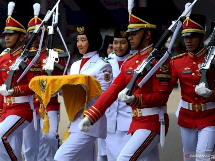 Istana Ajak Masyarakat Hentikan Aktivitas Selama Tiga Menit saat Detik-Detik Proklamasi