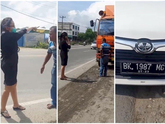'Orang Kaya Tapi Miskin Hati', Wanita di Medan Ngotot Ganti Rugi Walau Mobilnya Tak Lecet