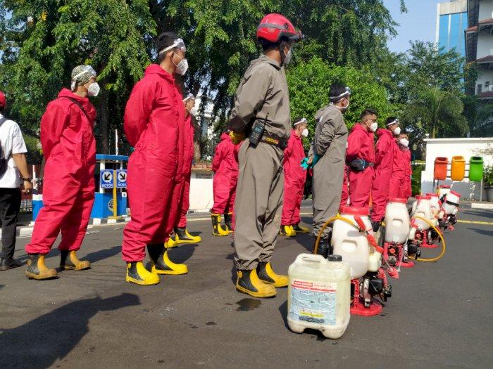 Anggota DPRD Kena Corona, Gedung DPRD DKI Jakarta Disterilkan Selama 3 Hari