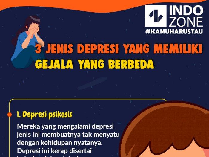 3 Jenis Depresi yang Memiliki Gejala yang Berbeda
