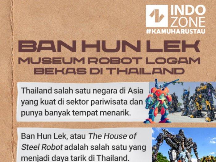 Ban Hun Lek, Museum Robot Logam Bekas di Thailand