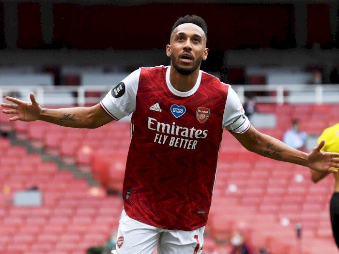 Arsenal Masih Dilema Soal Kontrak Aubameyang, Kenapa Lagi?