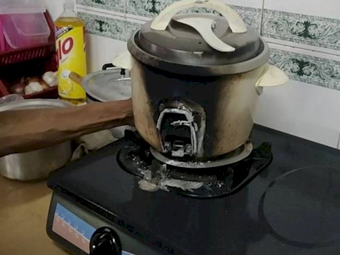 Kisah Haru Wanita Redam Amarah karena Ayahnya Masak Nasi Sampai Bikin Rice Cooker Gosong