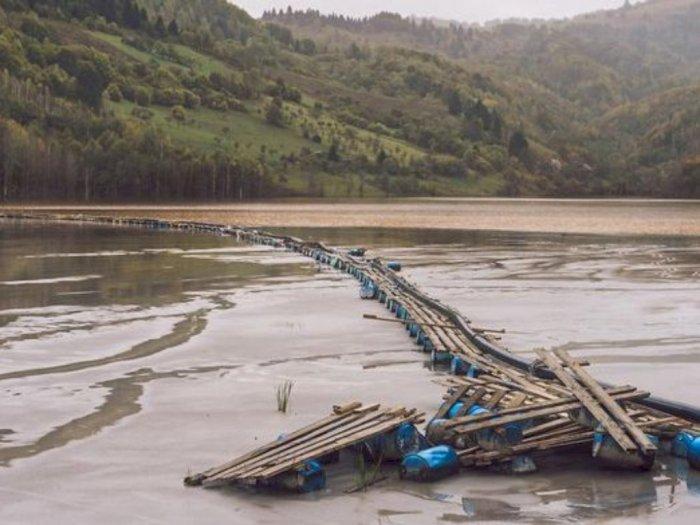 Malangnya Nasib Desa di Rumania, Tenggelam karena Limbah Tambang