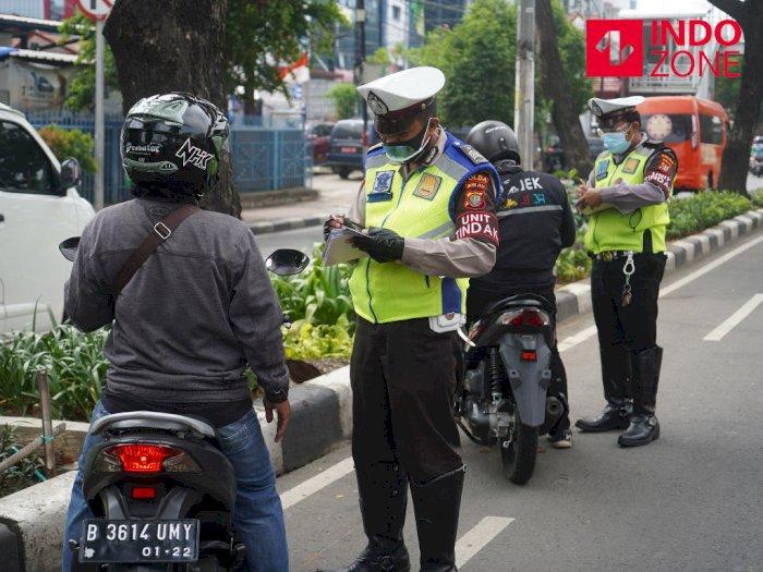 Ini Lokasi Terbanyak Pelanggar Hari Keenam Operasi Patuh Jaya di Jakarta