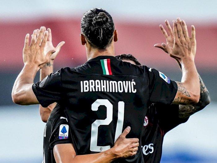 AC Milan Pesta Gol di Markas Sampdoria