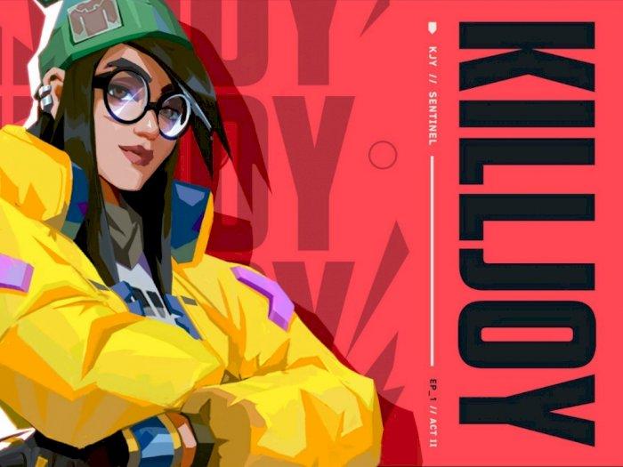 Riot Games Resmi Umumkan Agent Baru di Valorant Bernama Killjoy!