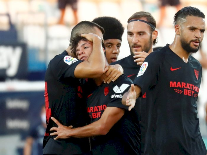 Klub Sevilla Dihantam Covid-19