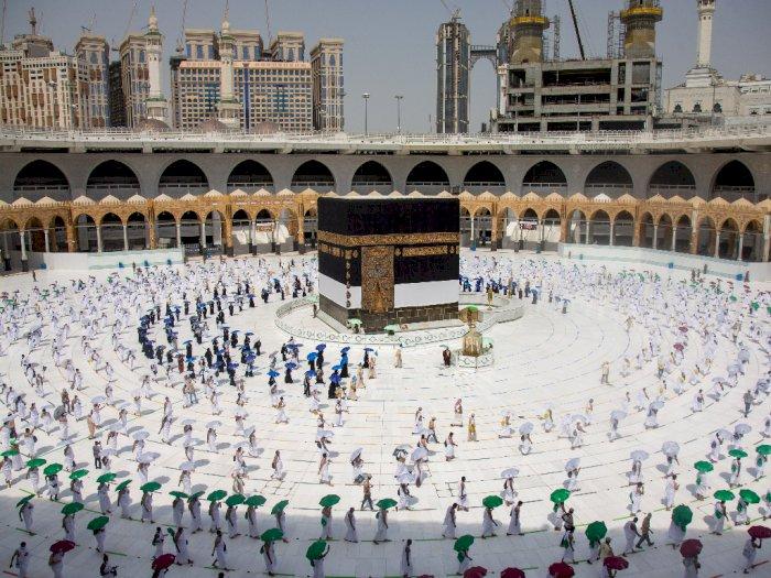 FOTO: Potret Pelaksanaan Haji 2020 di Tengah Pandemi Corona