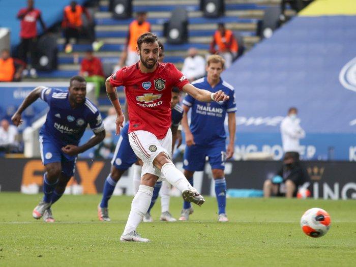 Ledek Bruno Fernandes, Mourinho: Penaltinya Hebat
