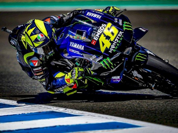 Meraih Podium di MotoGP Andalusia 2020, Yamaha Turut Senang dengan Valentino Rossi