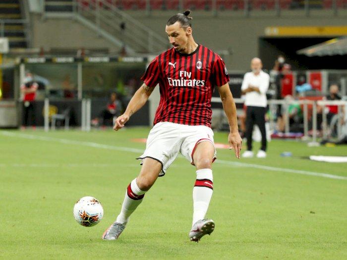 Menolak Tua, Zlatan Ibrahimovic Ukir Rekor Gol untuk Duo Milan