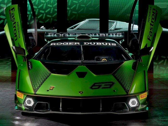 Ada Logo Pertamina Fastron, Begini Spesifikasi Hypercar Terbaru Milik Lamborghini!