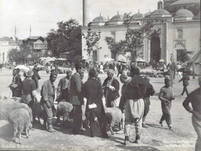 Begini Suasana Penyembelihan Hewan Kurban di Era Turki Ottoman